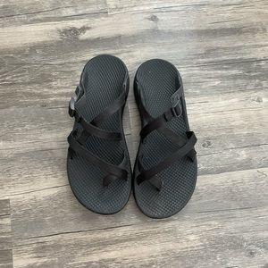 Black slip on chacos